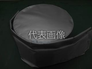 Matex/ジャパンマテックス 【MacThermoCover】メクラ フランジ 断熱ジャケット(ガラスニードルマット 20t) 屋外向け 10K-65A