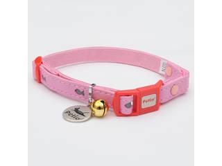 Petio/ペティオ CAT COLLAR フィッシュレザーカラー ピンク
