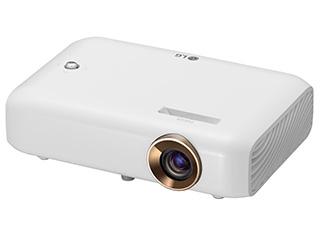 LG Electronics Japan DLP方式 LEDポータブルプロジェクター Minibeam/ミニビーム PH550G ホワイト