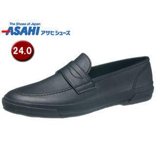 ASAHI/アサヒシューズ KD20011 アサヒローファー L02  【24.0cm・2E】 (ブラック)
