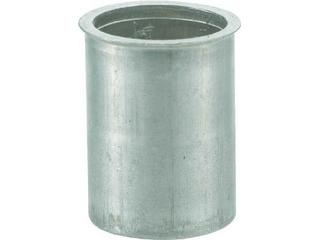 TRUSCO/トラスコ中山 クリンプナット薄頭アルミ 板厚4.0 M8X1.25 500個入 TBNF-8M40A-C