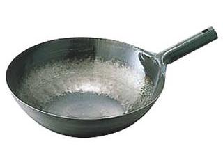 鉄打出片手中華鍋 1.6mm 45cm