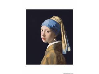 プリモアート フェルメール「真珠の耳飾りの少女」  A4_81耳飾りの少女