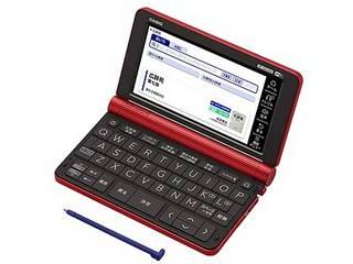 カシオ計算機 電子辞書 EX-word XD-SX6500(160コンテンツ/生活教養モデル/レッド) XD-SX6500-RD