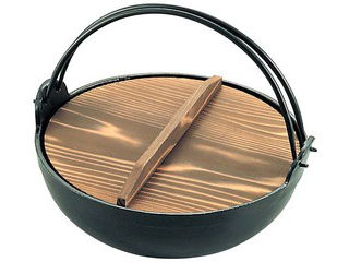 アルミ 電磁 いろり鍋 30cm