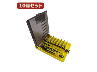 変換名人 変換名人 【10個セット】 特殊ドライバーセット DS45/AX10