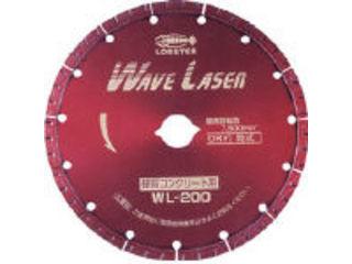 LOBTEX/ロブテックス LOBSTER/エビ印 ダイヤモンドホイール ウェブレーザー(乾式) 180mm WL180