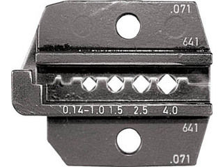 RENNSTEIG/レンシュタイクヴェルクツォイゲ 圧着ダイス 624-071 コネクターコンタクト0.14-4 624-071-3-0