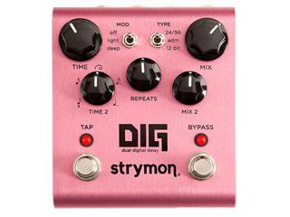 strymon ストライモン DIG ディグ Dual Digital 2020 新作 Delay デジタル ディレイがこの1台で同時に使用可能 RPS160221 デュアル 今だけスーパーセール限定 ディレイ Strymonエフェクター 1980年代ラック型ディレイとモダン