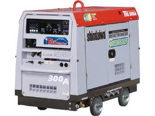 【組立・輸送等の都合で納期に1週間以上かかります】 YAMABIKO/やまびこ 【代引不可】shindaiwa エンジンTIG溶接機(オイルガード付) DGT300MC-W