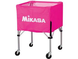 MIKASA/ミカサ 器具 ボールカゴ 屋外用(フレーム・幕体・キャリーケース3点セット) ピンク BCSPHL-P
