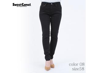 Sweet Camel/スイートキャメル ハイパワーストレッチdenimsta/スキニー【08=ブラック/size 58】■(SC5381)