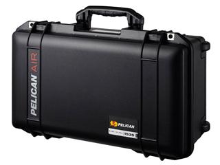 約40%の軽量化を実現したPELICAN(ペリカン)エアーシリーズの中型防水ケース・トレックパック ディバイダータイプ 【納期に約4ヶ月かかります】 PELICAN/ペリカン 1535HKTPBK(ブラック) AIR(エアー) 1535HK 中型防水ケース トレックパック(TP) ディバイダータイプ 1535HK エアー シリーズ