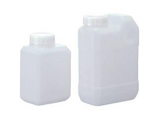SANPLATEC/サンプラテック 角瓶C型(広口タイプ) 1L (100個入) 2133