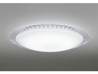 ODELIC OL251701BC LEDシーリングライト ダイヤカット模様入【~8畳】【Bluetooth 調光・調色】※リモコン別売