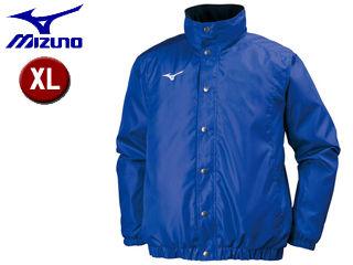 mizuno/ミズノ 32JE7551-25 中綿ウォーマーシャツ トレーニングウェア 【XL】 (サーフブルー)
