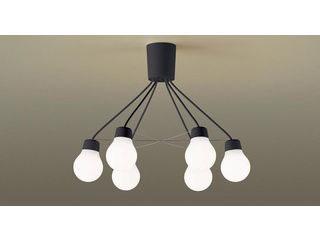 Panasonic/パナソニック LGB57629BCE1 吊下型 LED(温白色)シャンデリア ブラック【~6畳】