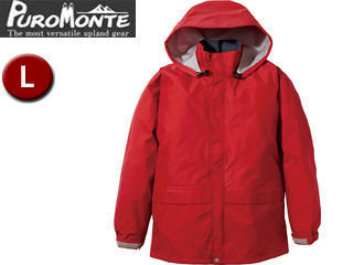 Puromonte/プロモンテ SJ135M Rain Wear ゴアテックス レインジャケット Men's 【L】 (レッド)