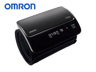 【nightsale】 OMRON/オムロン HEM-7600T-BKN 上腕式血圧計 (ブラック)