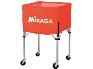 MIKASA/ミカサ 器具 ボールカゴ 屋外用(フレーム・幕体・キャリーケース3点セット) オレンジ BCSPHL-O