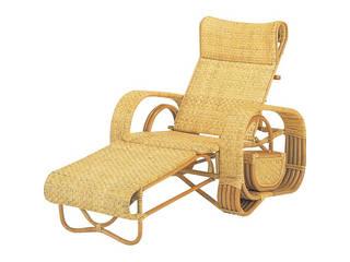 籐三つ折寝椅子  H29A107