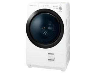 東京・神奈川・千葉・埼玉のみ配送可能 SHARP/シャープ ES-S7E-WL(ホワイト系・左開き) ドラム式洗濯機乾燥機【洗濯・脱水/乾燥:7kg / 3.5kg】