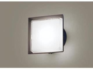 Panasonic/パナソニック LGWC81322LE1 LEDポーチライト オフブラック【昼白色】【明るさセンサ付】【壁直付型】