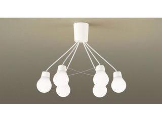 Panasonic/パナソニック LGB57629WCE1 吊下型 LED(温白色)シャンデリア ホワイト【~6畳】