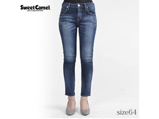 Sweet Camel/スウィートキャメル ナローストレートデニム【R4濃色USED】サイズ64■本格ビンテージ加工■(SC5322)