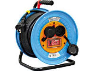 NICHIDO 日動工業 電工ドラム 防雨防塵型三相200V メーカー再生品 DNW-EK330-20A アース過負荷漏電しゃ断器付 30m 店内全品対象