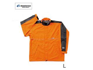 全5サイズ SUMIKURA/スミクラ 防水・透湿 全3色 反射テープ付き( レインジャケット L・オレンジ) ワールドマーチ 収納袋付き