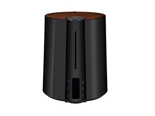 【nightsale】 Three-up/スリーアップ HB-T1826(BK) 大容量 多機能ハイブリッド加湿器 Grand Mist ブラック
