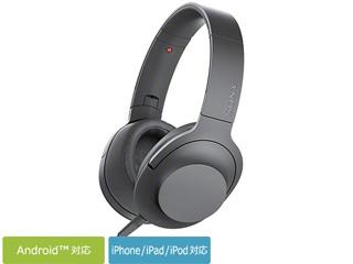 SONY/ソニー MDR-H600A-B(グレイッシュブラック) h.ear on 2 ステレオヘッドホン
