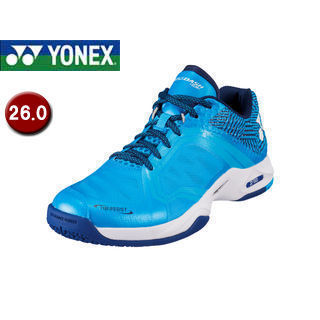 YONEX/ヨネックス SHTADSG-301 テニスシューズ パワークッション エアラスダッシュ SGC 【26.0】 (アクア)