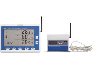 A&D/エー・アンド・デイ ワイヤレス温湿度計 AD5665SET
