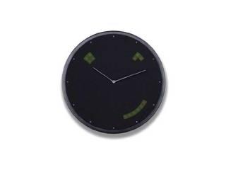 ビーラボ IoTクロック 「Glance Clock(グランスクロック)」 Graphite GC-US-BLK-01 ・クラシックな2針フェイスにLEDとスピーカーを搭載 ・スケジュールや天気、タイマーなどが表示できるIoTクロック