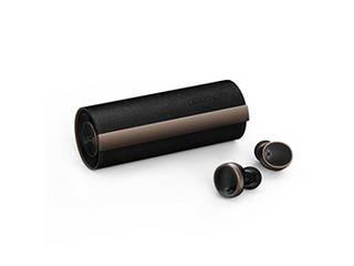Padmate Padmate 完全ワイヤレスイヤホン PaMuScroll Plus Black Leather+ワイヤレス充電レシーバー PM16550