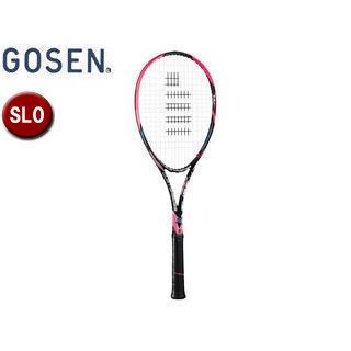 GOSEN/ゴーセン SRCETX ソフトテニス ラケット CUSTOMEDGE TYPE-X (フレームのみ) 【SL0】 (ショッキングピンク)