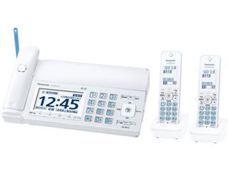 Panasonic/パナソニック KX-PD725DW(W)  デジタルコードレス普通紙ファクス(子機2台付き)(ホワイト)