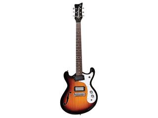 【納期にお時間がかかる場合があります】 Danelectro/ダンエレクトロ DANELECTRO エレキギター THE '66 3TS(3トーンサンバースト)