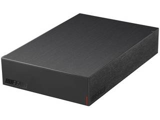 BUFFALO USB3.2(Gen.1)対応外付けハードディスク 4TB HD-LE4U3-BA ブラック