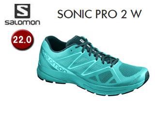 SALOMON/サロモン L39474200 SONIC PRO 2 W ランニングシューズ ウィメンズ 【22.0】
