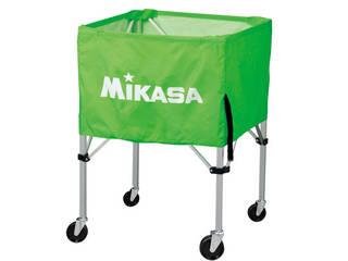 MIKASA/ミカサ 器具 ボールカゴ 屋外用(フレーム・幕体・キャリーケース3点セット) ライトグリーン BCSPHL-LG