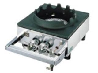 ※こちらはLPガス専用になります。 YAMAOKA/山岡金属工業 中華レンジ S-1225/LPガス