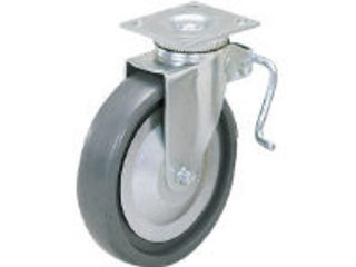 SUGATSUNE/スガツネ工業 LAMP 重量用キャスター径203自在ブレーキ付SE(200-139-453 SUG-31-408B-PSE