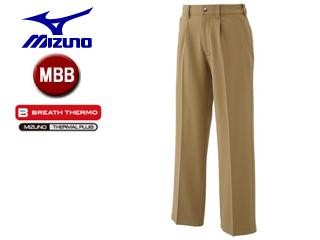 mizuno/ミズノ A2JF6501-49 ブレスサーモ ノンストレスパンツ メンズ 【MBB】 (ベージュ)