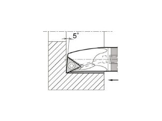 KYOCERA/京セラ 内径加工用ホルダ E12Q-STLPR11-14A-1/2