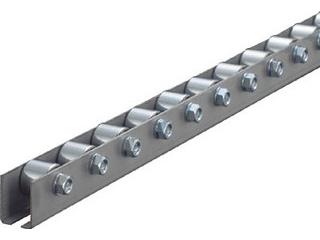 【組立・輸送等の都合で納期に1週間以上かかります】 TRUSCO/トラスコ中山 【代引不可】ホイールコンベヤ 削出しΦ20X15 P35XL1000 V2015S351000