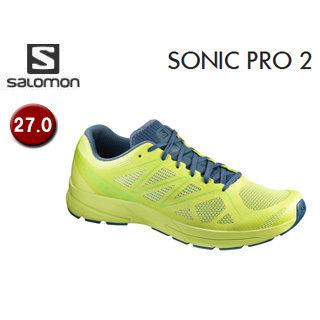 SALOMON/サロモン 【在庫限り】L39339000 FOOTWEAR SONIC PRO 2 【27.0】 (LIME PUNCH./MALLARD BLUE/LIME GREEN)
