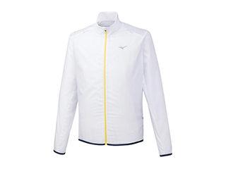 mizuno/ミズノ ブレーカーシャツ ポーチジャケット XLサイズ ホワイト J2ME9520-01